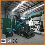 Regeneração Waste do petróleo de motor para basear a refinaria modular do destilador do vácuo do petróleo