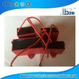 Cassa del condensatore, di colore rosso & di Whilte di colore del ventilatore Cbb61, tipo quadrato, 370VAC