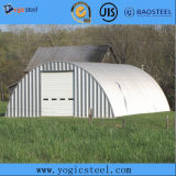 Materiales de construcción Aluminio Chapa de acero corrugado recubierta de zinc para techos