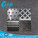 PVDF a percé le panneau en métal utilisé pour la décoration de construction de Comercial