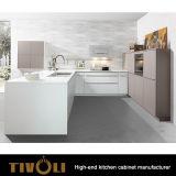 光沢のある黒い食器棚はとのTivo-0713Vをカスタム設計する