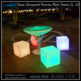 Muebles ligeros recargables materiales del PE LED