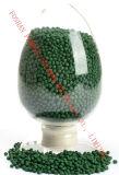 Зеленое Masterbatch для инжекционного метода литья с высокой концентрацией пигмента