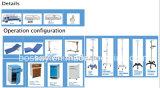 Letto di ospedale caldo di funzioni ICU di standard cinque della FDA di vendita
