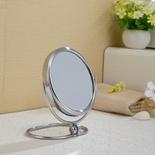 Ingrandimento da tavolino d'ottone dello specchio della stanza da bagno da 6 pollici