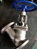 Tipo valvola dell'acciaio di pezzo fuso CF8 OS&Y Y di globo