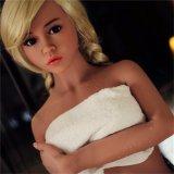 155cm平らな胸のアジア女性のシリコーンの性の実質の人形