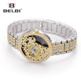 Вахта кварца женщин способа Belbi с Wristwatch конструкции шкалы диаманта леопарда