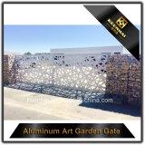 Конструкции главного входа сада отрезока лазера алюминиевые