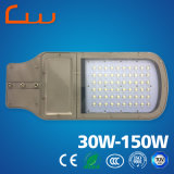 Réverbère solaire en aluminium de la lampe Q235 30W DEL