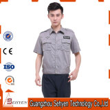 Mélange du Chemise-Pantalon de garde de sécurité 35%Cotton et 65%Polyester uniforme