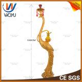 Античная стеклянная конструируя форма павлина Shisha кальяна большая