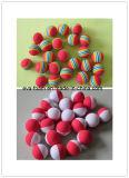 Дешевый изготовленный на заказ шарик пены печатание шарика пены игрушки шарика пены ЕВА логоса для выдвиженческого