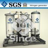 Purificación del nitrógeno con el CE obediente