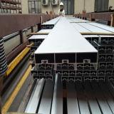 6063 profils en aluminium d'extrusion d'enduit de la poudre T-5 pour le guichet de glissement