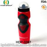 La plastica promozionale della bicicletta del LDPE mette in mostra la bottiglia, la bottiglia di acqua libera di sport della plastica di BPA (HDP-0397)