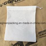 أبيض غير يحاك ترويجيّة حقيبة صنع وفقا لطلب الزّبون [80غسم/100غسم] تكّة
