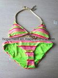Сексуальный двухкусочный без бретелек костюм Бикини Swimwear радуги для женщин/повелительницы