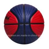 Talla antideslizante 5 baloncesto de cuero de la PU de 6 7 Compostie