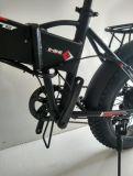 20 بوصة يخفى بطارية يطوي سمين كهربائيّة درّاجة طيّ