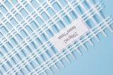 Engranzamento concreto da fibra, cor reforçada do branco do engranzamento 1X50m 160GSM 5X5mesh da fibra de vidro
