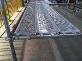 Heißes BAD galvanisierte Stahlplanke in der 320mm Breite