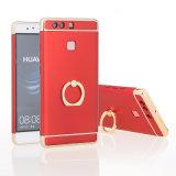 Cubierta del teléfono del laminado del sostenedor del anillo para Huawei P9