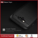 Nueva caja de lujo retra de la fibra del carbón para la magia de Huawei