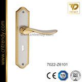 Neuer Möbel-Befestigungsteil-Zink-Legierungs-Tür-Verriegelungsplatten-Griff (7022-Z6101)