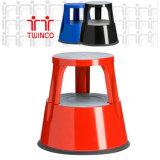 De 2-stap van Stepstools van de Kruk van de Stap van het Metaal Ladder van uitstekende kwaliteit
