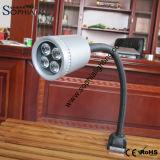 lámpara flexible del cuello de cisne del brazo de 120V 100-240V para el torno del CNC