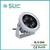 12W impermeabilizan el proyector del LED para el paisaje, iluminación de la ciudad (SLS-24A)