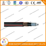 Conducteur de cuivre recuit XLPE Isolation PVC Type de veste Urd Cable