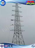 Torre eléctrica de transmisión de energía eléctrica de acero