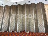 Divisorio piegante dello schermo del divisorio dell'acciaio inossidabile di montaggio della lamiera sottile di Topson per la decorazione dell'hotel