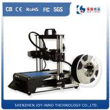 Impressora 3D Desktop da versão nova com ABS, materiais compatíveis do PLA