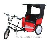 赤い手段の販売のための電気Pedicabの人力車