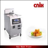 Friteuse ouverte électrique d'aide commerciale de cuisine de Cnix