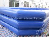 Piscine gonflable bleu-foncé/syndicat de prix ferme d'eau gonflable géant