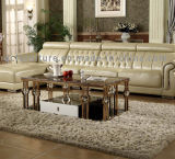 현대 스테인리스 커피용 탁자 다리 탁자