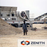 中国の製造者の容量300tphの移動式石炭クラッシャ