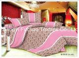 Venta al por mayor 65/35 de la fábrica polivinílica/conjuntos cómodos del lecho del hotel de lujo del algodón