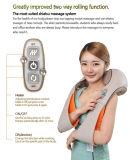 Cinturón vibrante vibrante del masaje del cuello de Shiatsu