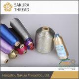 Полиэфир/Nylon чисто резьба золота для домашнего тканья