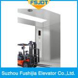 Máquina Mercadorias sem carga de mercadorias Elevador Elevador com 6 painéis Tipo de abertura do centro