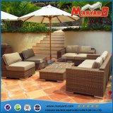 屋外の藤の家具のホテルの余暇のソファー