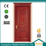 Porte d'intérieur de Guangzhou avec bois et verre pour hôtel et maisons