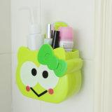 Дом чашки высасывателя милой стены всасывания ванной комнаты шаржа держателя зубной щетки животный новый