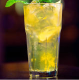 De goedkope Bevroren Kop van de Thee van het Glas van de Drank, de Mok van de Drank van het Glas,
