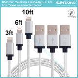 USB 2.0 do preço de fábrica micro ao cabo cobrando trançado do USB tela